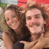Tina Stoklosa și iubitul ei, foto Instagram