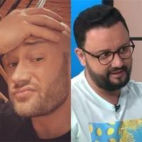 Mihai Bendeac și Cătălin Măruță, colaj foto, sursa Instagram