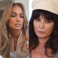 Jennifer Lopez și Dana Budeanu, colaj foto