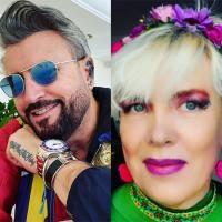 Catalin Botezatu si Silvia Dumitrescu, colaj, foto Instagram