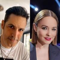 Andreea Marin și Stefan Banica, colaj, sursa foto Instagram