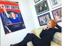 Kathy Griffin. Foto: Instagram