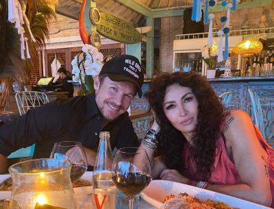 Mihaela Radulescu și Felix Baumgartner, foto Instagram