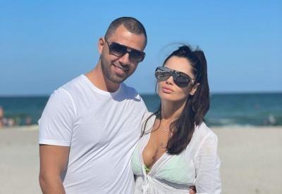 Oana Zăvoranu și soțul ei, sursa foto Facebook