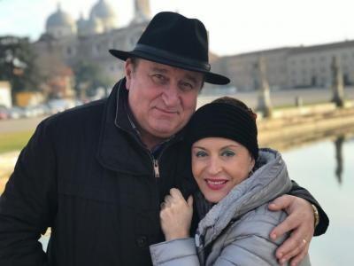 Maria Dragomiroiu și soțul ei, sursa instagram