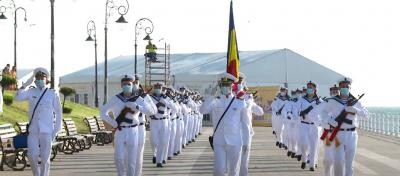 Ziua Marinei Române, captura foto Youtube/ sursa Forțele Navale Române