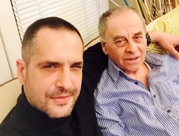 Madalin Ionescu și tatal sau, foto Facebook