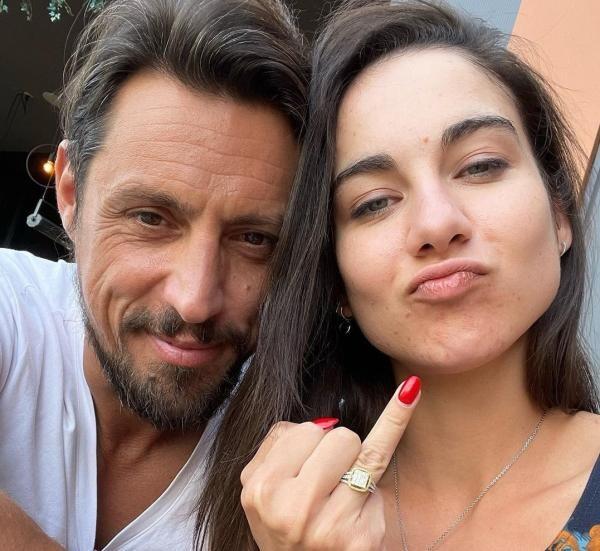 Daniel Pavel și Marina, sursa foto Instagram