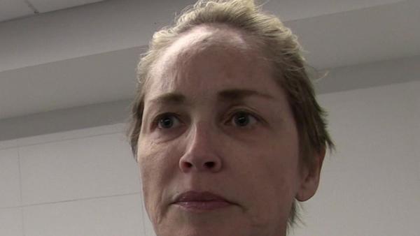 Sharon Stone, Captură foto YouTube