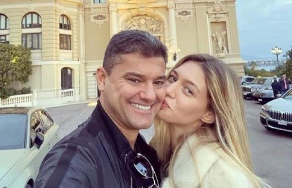 Cristian Boureanu și Laura Dinca, foto Facebook