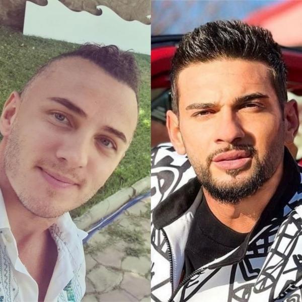 Mihai Trăistariu, Dorian Popa. colaj/ foto Instagram