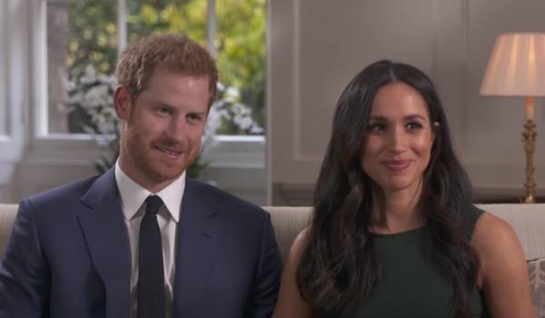 Prințul Harry și Meghan Markle, captură foto Youtube, sursa BBC NEWS