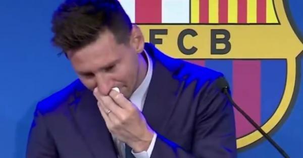 Messi, captura foto Sky Sports