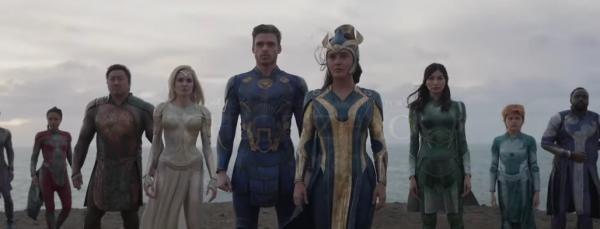 Eternals, captura foto Youtube/ sursa Marvel