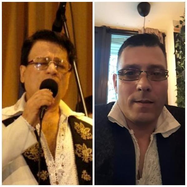 Ionuț Petrescu și Ion Dolănescu, colaj foto, sursa facebook