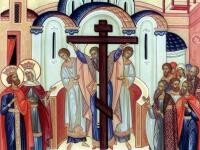 Înalțarea Sfintei Cruci. Foto crestinortodox
