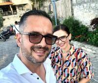 Madalin Ionescu și Cristina Șișcanu, foto Instagram