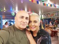 Marcel Pavel și Monica Anghel, foto Facebook