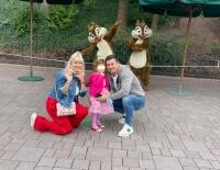 Elena Udrea, Adrian Alexandrov și fiica lor , foto Facebook