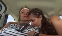Adriana Trandafir și fiica ei, captura foto Youtube/ Antena 1