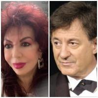 Carmen Harra și Ion Caramitru, sursa facebook, colaj foto