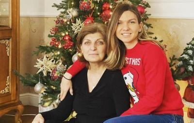 Simona Halep și mama sa, sursa instagram