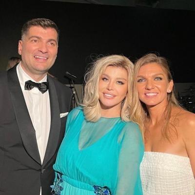 Loredana Groza, Toni Iuruc, Simona Halep, sursa instagram