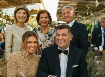 Nuntă Simona Halep, sursa instagram