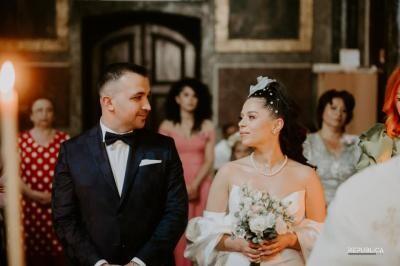 Eugenia Nicolae și soțul ei, foto arhiva personală