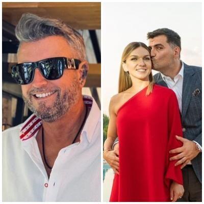 Cătălin Botezatu și Simona Halep, sursa instagram/ colaj foto