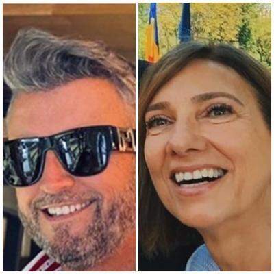 Cătălin Botezatu și Carmen Iohannis, sursa facebook/ colaj foto
