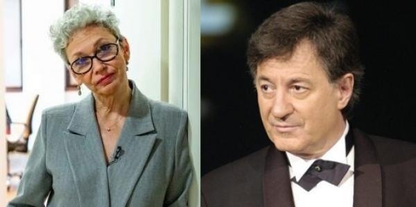 Oana Pellea, Ion Caramitru, colaj foto Facebook