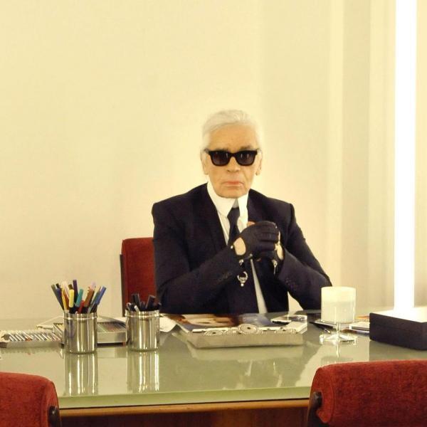 Karl Lagerfeld, foto Instagram