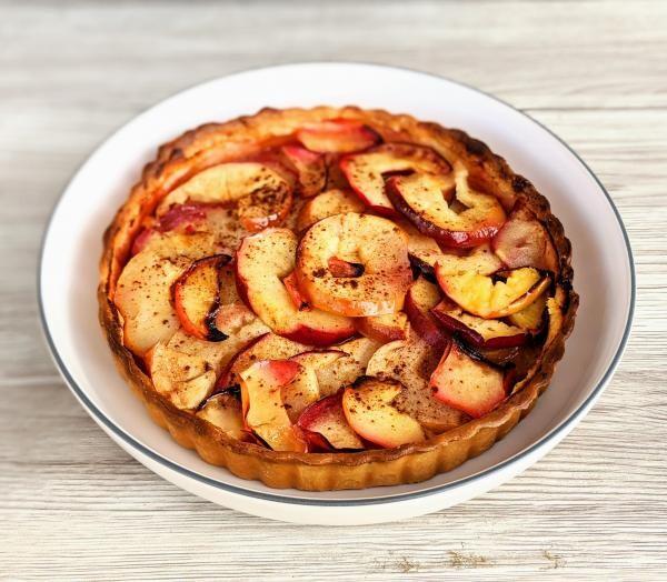 Prăjitură cu mere, sursa unsplash