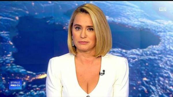 Andreea Esca, captură foto TV