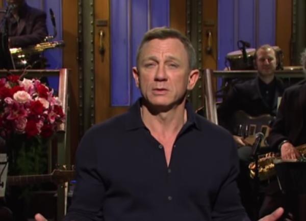 Daniel Craig, captura foto Youtube/ Saturday Night Live