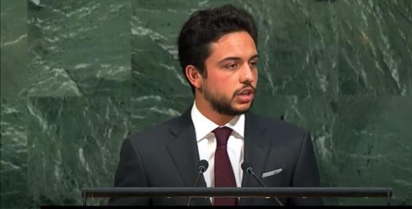 Prințul moștenitor al Iordaniei, captură Youtube