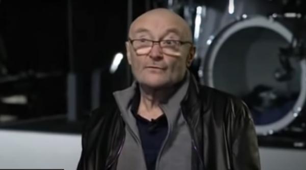 Phil Collins, captură foto YouTube/ BBC