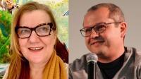 Regizorul Corneliu Porumboiu şi producătorul de film Ada Solomon, puşi sub acuzare de DIICOT, colaj Foto Facebook/Wikipedia