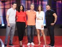 Costi, Nadine, Andi, Andreea, Bobo, foto Pro TV