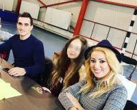 Fiica Larisei și a lui Marian Drăgulescu, sursa instagram
