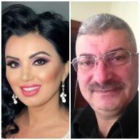 Adriana Bahmuțeanu și Silviu Prigoană, sursa facebook/ colaj foto