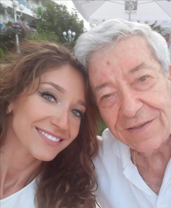 Ion Dichiseanu și fiica lui, sursa facebook