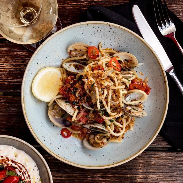 Spaghete, foto Unsplash/ sursa Clark Douglas